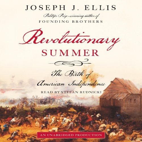 Revolutionary Summer audiobook cover art