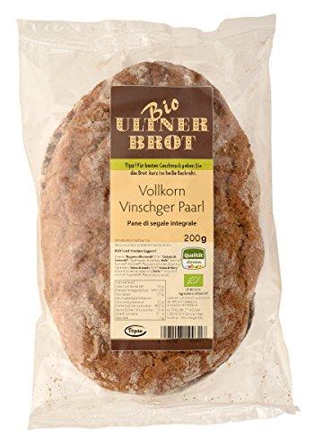 """Ultner Brot Vollkornbrot """"Ultner Vinschger Paarl"""" zum Aufbacken (300 g)"""