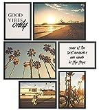 Papierschmiede® Mood-Poster Set Los Angeles | Bilder als