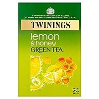 Twinings Green Tea with Lemon & Honey (20 per pack) レモンと(パック当たり20 )ハチミツとトワイニング緑茶