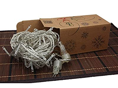 Battery Operated Outdoor and Indoor Extendable String Lights with 8 Functions Controller (6 hour Auto Timer feature) with Memory Chip- Last 60 Days, Christmas Lights, Party Lights