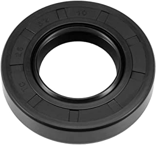 uxcell Oil Seal, TC 28mm x 52mm x 10mm, Nitrile Rubber Cover Double Lip