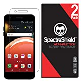 [2-Pack] Spectre Shield Screen Protector for LG Zone 4 Case Friendly LG Zone 4 Screen Protector Accessory TPU Clear Film