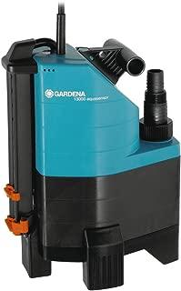 Bomba de aguas sucias 13000 aquasensor Comfort de GARDENA: bomba sumergible- caudal 13000l-h- función automática- motor silencioso y sin mantenimiento- conexión universal- carcasa robusta (1799-20)