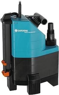 Gardena Pompe D'Évacuation pour Eaux Chargées Aquasensor 13000 Comfort: Pompe Immergée, Débit 13000 L/H, Fonctionnement A...