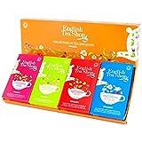 English Tea Shop Colección de infusiones de té orgánico en 4 sabores surtidos - 1 x 60 bolsitas de té (90 gramos)