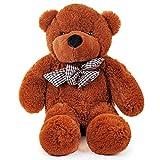 THE TWIDDLERS Oso Peluche 80cm - Gigante Teddy Bear con Sensación De Felpa Suave Regalo para Día De San Valentín –Grande Tierno Y Romántico para Pareja, Y Ocasiones Especiales