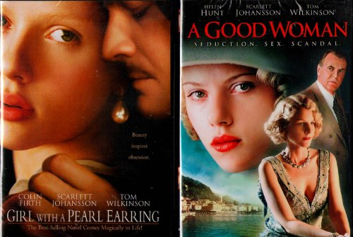 Girl with a Pearl Earring , a Good Woman : Scarlett Johansson Sexy 2 Pack
