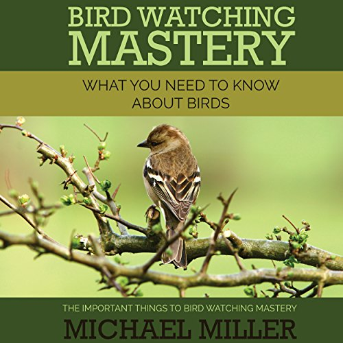 Bird Watching Mastery audiobook cover art