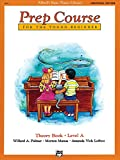 Alfred's Basic Piano Prep Course Theory Book, Level A (Alfred's Basic Piano Library) (Alfred's Basic Piano Library, Bk A)