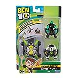 Ben 10 BEN22410 Diamondhead y Cannonbolt Omni Lanzamiento Figuras de Batalla