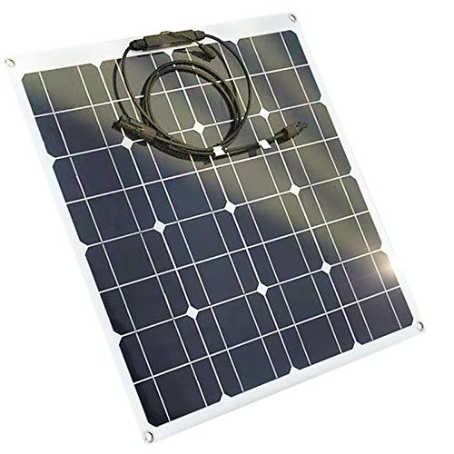 CZX 50W Portable And Flexible Off Grid System Kit With 12V Monocrystalline Emergency Charging.