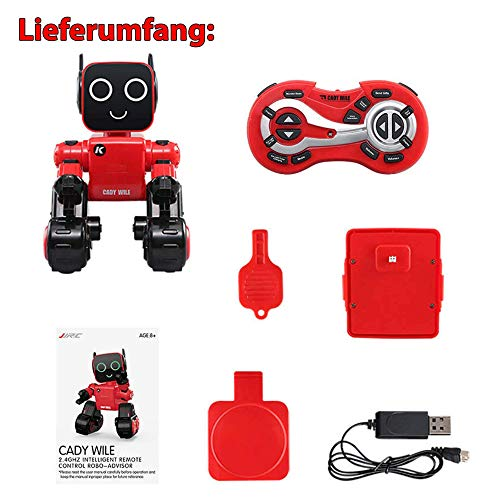HSP Himoto 2.4GHz RC Ferngesteuerter Roboter programmierbar, in Allen Richtungen fernsteuerbar, Tanz, Demo, Sound- und Musikfunktionen und vieles mehr, NEU OVP