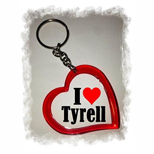 EXCLUSIVO: Llavero del corazón 'I Love Tyrell' , una gran...