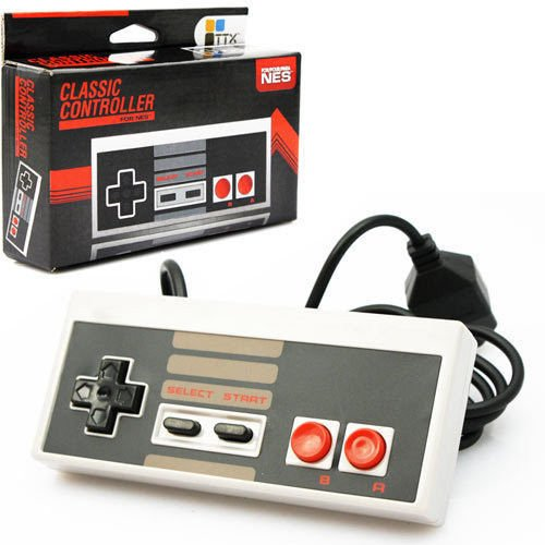 Brand New TTX Tech Wired Classic Controller Gamepad Joystick Joypad for NES