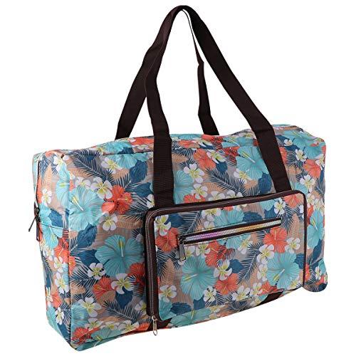 Lurrose 1pc portátil Oxford bolsa de viaje de tela impresión de flores...