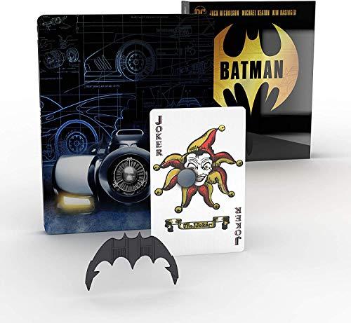 Batman (1989) Titans of Cult - Exklusive Steelbook Edition - 4K Ultra HD + Blu-ray