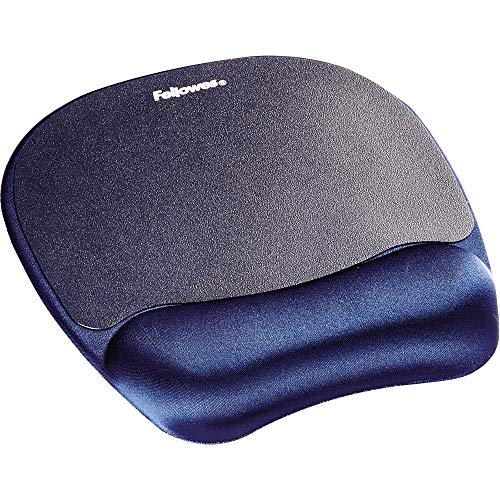 Fellowes Memory Foam Handgelenkauflage mit Mauspad- blau