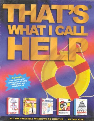 Preisvergleich Produktbild That¿s What I Call Help - Windows 95 Utilities
