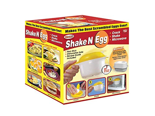 Microwave Scrambled Egg & Omelette Cooker, Fast, Delicious Microwaveable Eggs- As Seen On TV