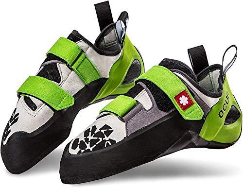 Ocun Jett QC Kletterschuhe Yellow/Grey Schuhgröße UK 9 | EU 43 2020 Boulderschuhe
