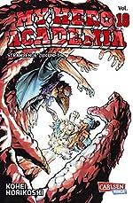 My Hero Academia 18 - Die erste Auflage immer mit Glow-in-the-Dark-Effekt auf dem Cover! Yeah! de Kohei Horikoshi
