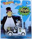 Hot Wheels Batman Classic Serie de televisión el pingüino '49 Ford Coe Die Cast