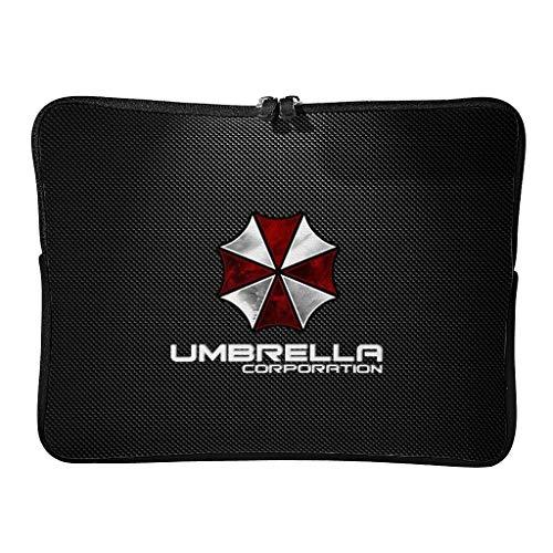 Regular Corporation of Umbrella Laptop Bags Novedad Ampliable - Horror Scary Laptop Bag Adecuado para Negocios, blanco (Blanco) - XJJ88-DNB-8