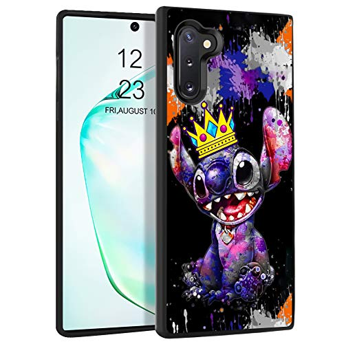 DISNEY COLLECTION Case for Samsung Galaxy Note 10 (6.3 inch) TPU+PC Crown Stitch Cartoon Cute Rub Slip Shock Proof Protective Galaxy Note 10 Cover