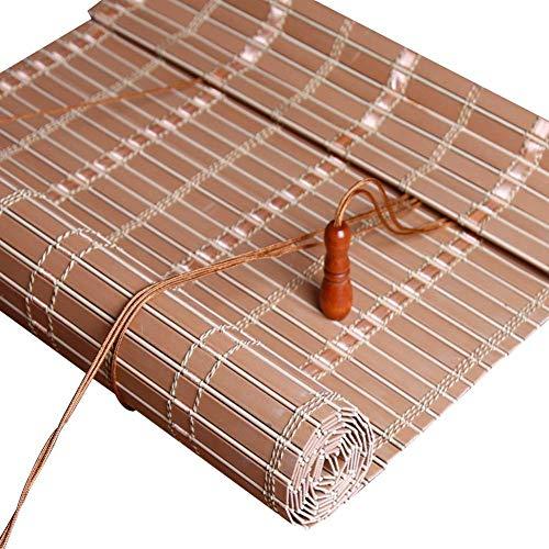 Vicareer Persianas enrollables, persianas venecianas, Material de PVC, persianas Impermeables para Exteriores, Dos Colores, tamaños Personalizables