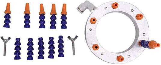Diámetro 100 mm grabado máquina agua rociar esquilar con 10 mm exterior diámetro agua tubo para CNC Tornillo fresado taladro grabado máquina