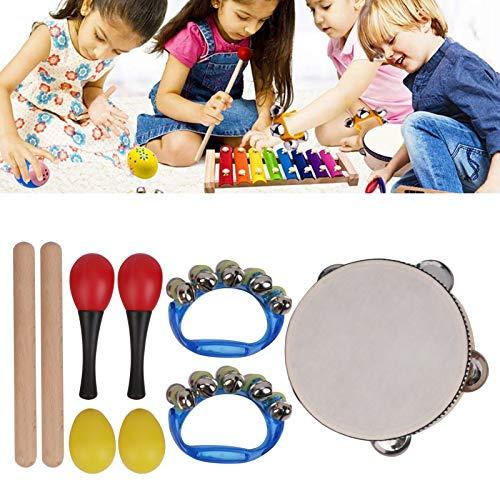 Juego de Juguetes de percusión Musical, Instrumentos Musicales educativos, Instrumentos Musicales, niños, niñas, hogar para niños, niños