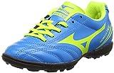 Mizuno Morelia Neo Cl Jr. As Botas de fútbol Unisex, para niños, Azul (Diva Blue/Safety Yellow), 32.5 EU (1 UK)