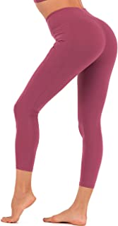 JINSEYUAN High Waisted Yoga Pants with Pockets for Women,Compression Tummy Control Workout Leggings,Non See Through