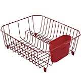 Best Dish Drainers - Rubbermaid Antimicrobial Dish Drainer, Small, Red Review