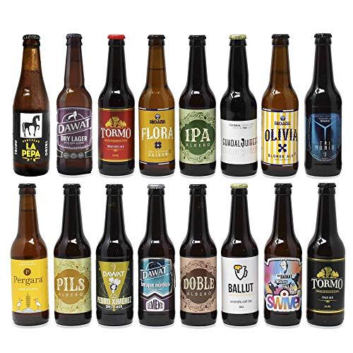Pack de cervezas artesanas. x16 Las...