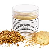 HomeHere Gold Luster Dust Edible Cake Gold Dust, Gold, 7 Grams