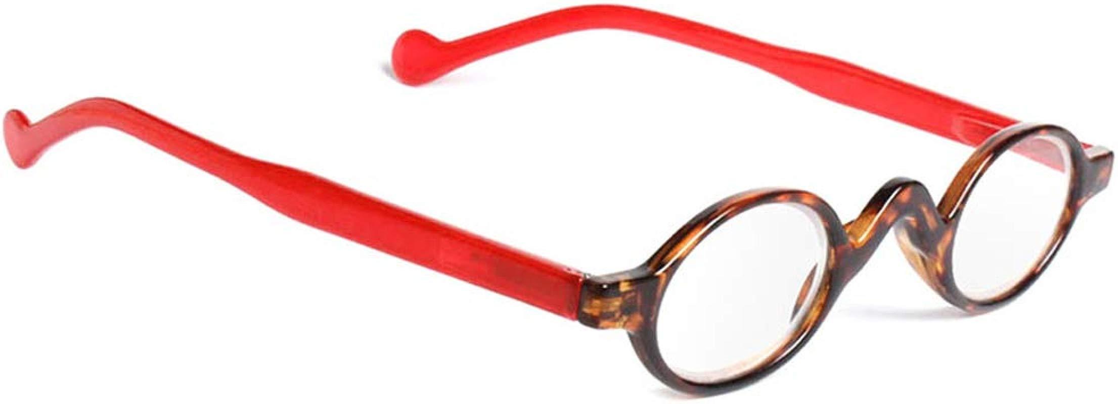 Retro Vintage Mini Small Round Frame Men Womens Readers Reading Glasses
