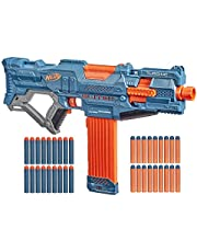 Nerf Elite 2.0 Turbine CS-18 motorisierter Blaster, 36 Nerf Darts, 18-Dart Clip-Magazin, Tactical Rails, Befestigungspunkt