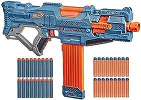 Nerf Elite 2.0 Turbine CS-18 Motorized Blaster, 36 Official Nerf Darts, 18-Dart Clip, Tactical Rails, Barrel Attachment...