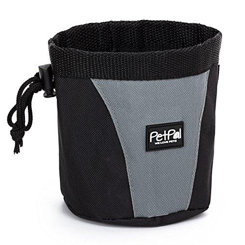 PetPäl Futterbeutel für Hunde Leckerlies Leckerlibeutel für Hund & Pferd - Leckerlitasche, Snack Bag mit Clip & Lasche - Hunde Zubehör Leckerli Tasche - Leckerlie-Tasche fürs Training