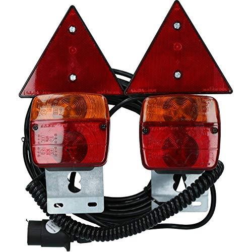 AB Tools Remorque Voiture magnétique/Feux Récupération Set 10m de câble d'éclairage / TR124