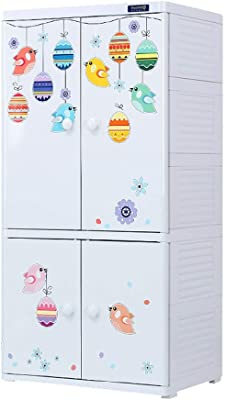 Amazon.com: DPLQX armario de tela, armario de almacenamiento ...