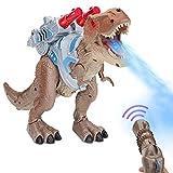 Smalody Elektrisch Dinosaurier Spielzeug Kinder, Fernbedienung ElectricToy Kinder RC Tierspielzeug...