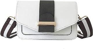 Wultia - Bags for Women 2019 Women Small Bag Contrast Color Shoulder Bag Wild Messenger Bag Bolsa Feminina White