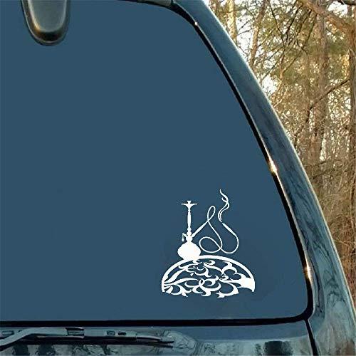 Autoaufkleber 15.9Cmx18.4Cm Shisha Smoking Decor Autozubehör Aufkleber