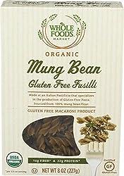 Whole Foods Market, Organic Mung Bean Gluten Free Fusilli, 8 oz