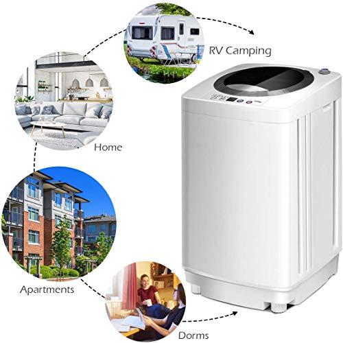 Giantex Portable Compact Full-Automatic Laundry