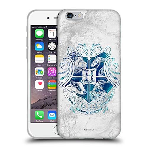 Head Case Designs Offizielle Harry Potter Hogwarts Aguamenti Deathly Hallows IX Soft Gel Huelle kompatibel mit Apple iPhone 6 / iPhone 6s