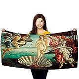 Toalla de playa toallas de retroartdecor de Botticelli
